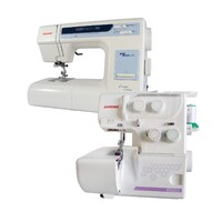 Janome My Excel 18W Sewing Machine + 8002DX Overlocker Set