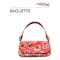 Baguette Bag Pattern by You Sew Girl