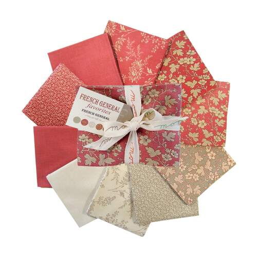 Moda French General Favourites - Fat Quarter Bundle