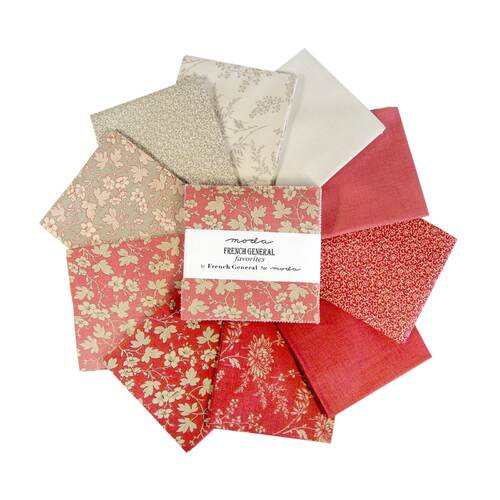 Moda French General Favourites - Charm Pack