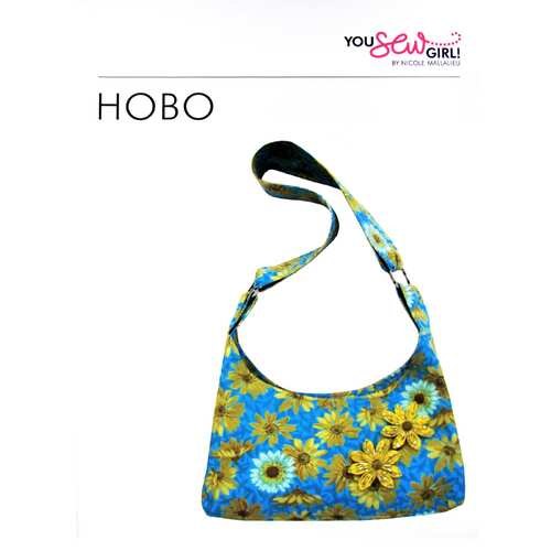 Hobo Bag Pattern by You Sew Girl