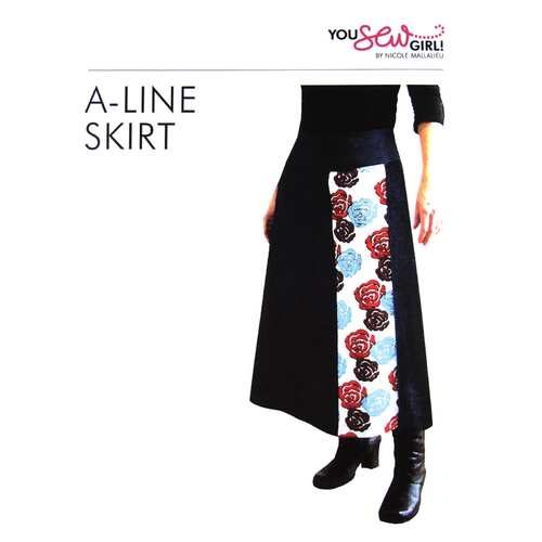 A Line Skirt Pattern by You Sew Girl
