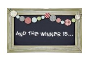 Drum roll Please: This Month's Winner is