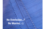 How To Finish Seams Without an Overlocker