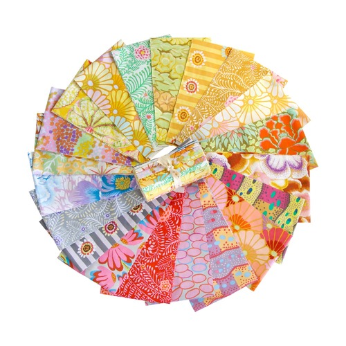 Mist by Kaffe Fassett Collective - Design Roll (6 inch Jelly Roll)